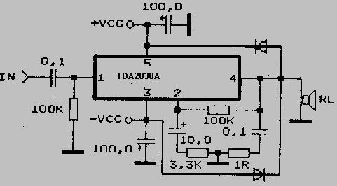 Um17 moreover 2x5W Stereo Audio  lifier based TA7227 circuit diagram 17007 also Low Power Stereo  lifier Tda2822 likewise Pc Power Supply likewise E5 8F 8C E5 A3 B0 E9 81 93. on tda2822 datasheet
