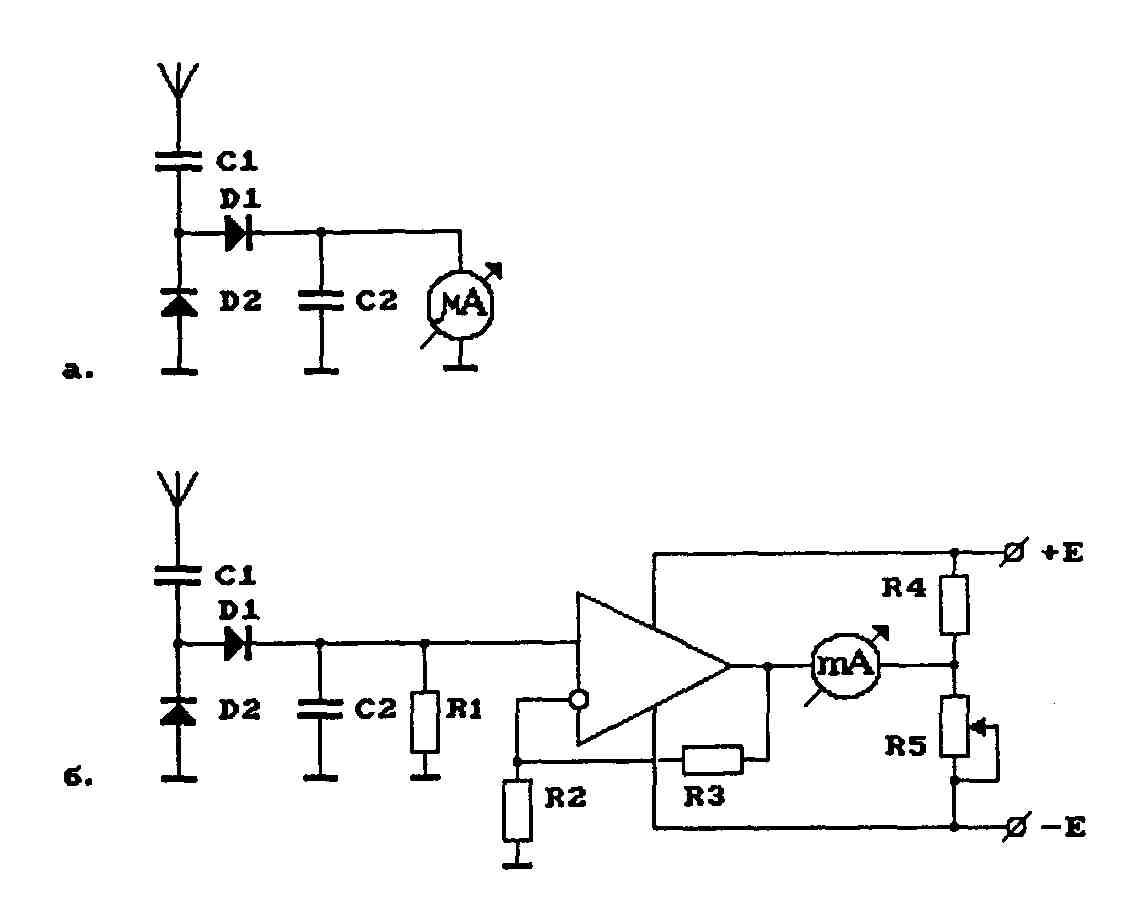 схема укв приемника на одном транзисторе